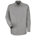 Men's Long Sleeve Pocketless Work Shirt