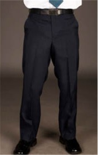 Men's Polyester Tailored Front Stretch Pant