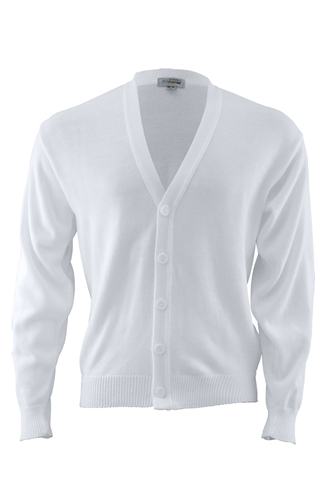 Tuff-Pil® Acrylic Cardigan Sweater-No Pockets
