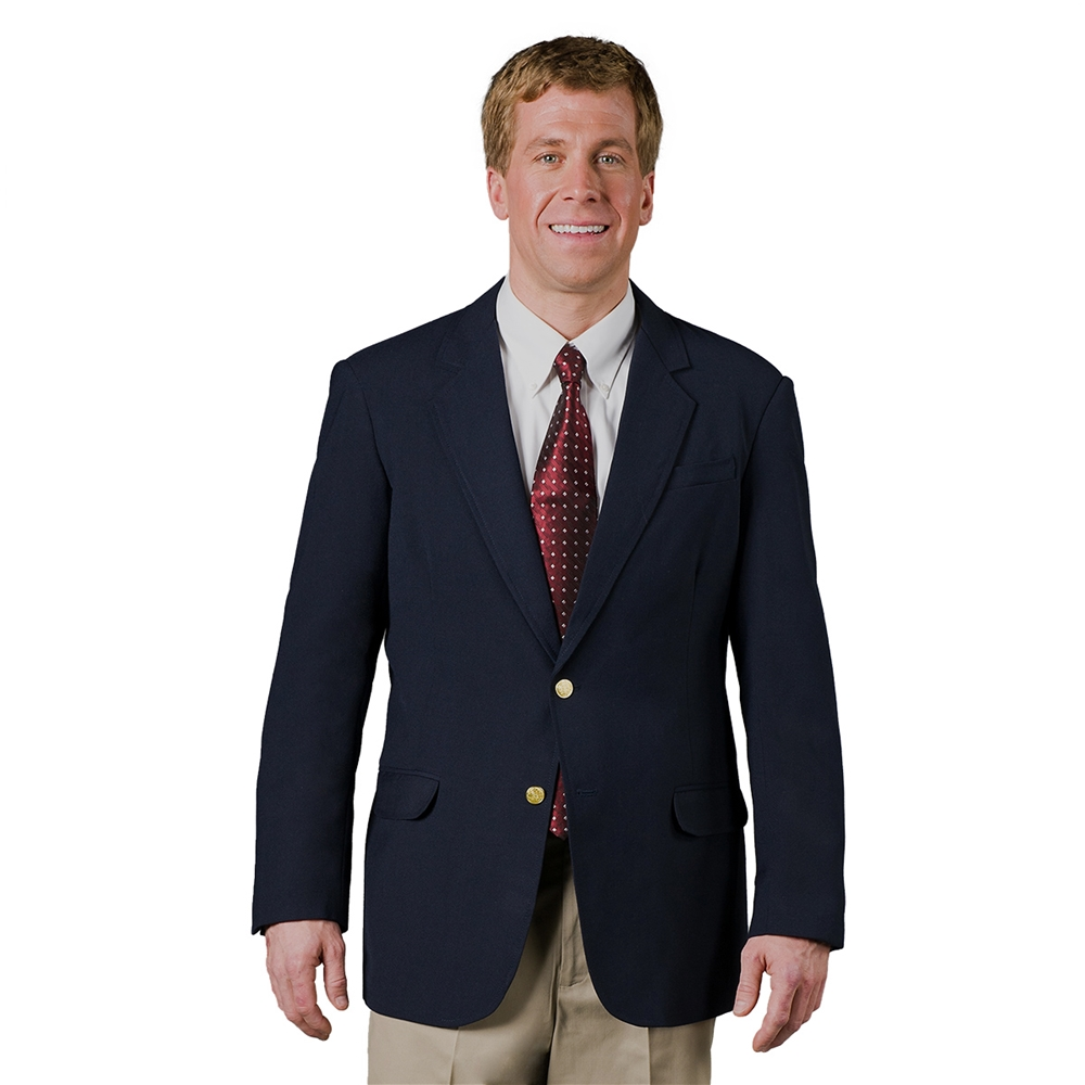 Men's Polyester Single Breasted Blazer