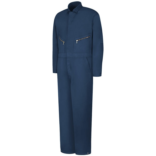 Snap Front Closure Insulated Twill Coverall