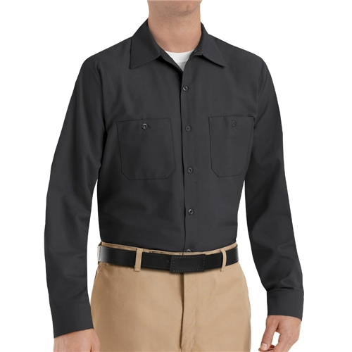 Men's Long Sleeve Poplin Workshirt