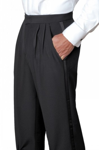 Men's Pleated Pant